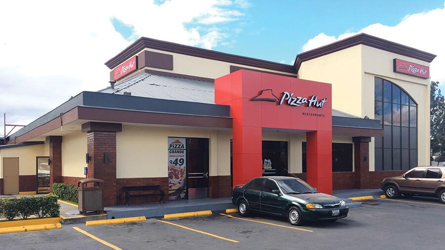 Restaurante pizza hut b s acabados arquitect nicos - Restaurante pizza hut ...